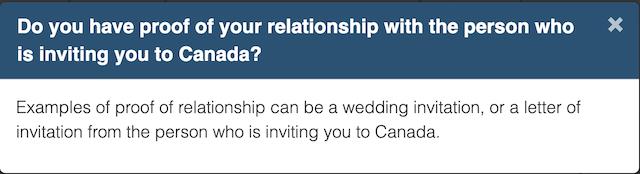 加拿大签证邀请家人