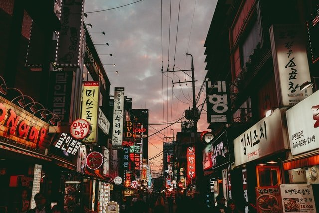 韩国签证温哥华
